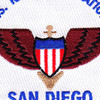 San Diego Air Station California Patch   Center Detail