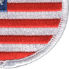 Round United States Flag Patch | Lower Right Quadrant