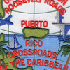 Roosevelt Roads Puerto Rico Naval Station Patch | Center Detail