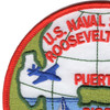 Roosevelt Roads Puerto Rico Naval Station Patch | Upper Left Quadrant
