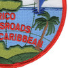 Roosevelt Roads Puerto Rico Naval Station Patch | Lower Right Quadrant