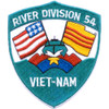 RIVDIV 54 River Division Fifty Four Patch Viet-Nam