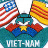 RIVDIV 54 River Division Fifty Four Patch Viet-Nam   Center Detail