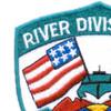 RIVDIV 54 River Division Fifty Four Patch Viet-Nam   Upper Left Quadrant