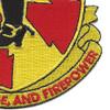598th Field Artillery Battalion Patch | Lower Right Quadrant