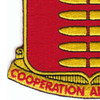 597th Field Artillery Battalion Patch | Lower Left Quadrant