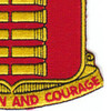 597th Field Artillery Battalion Patch | Lower Right Quadrant