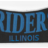 Riders Illinois Back Patch | Center Detail