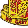 595th Field Artillery Battalion Patch   Lower Left Quadrant
