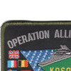 Operation Allied Force Patch | Upper Left Quadrant