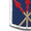 593rd Sustainment Brigade Patch | Lower Left Quadrant