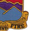593rd Field Artillery Battilion Patch   Lower Right Quadrant