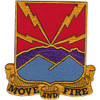 593rd Field Artillery Battilion Patch