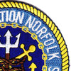 Norfolk Naval Station Virginia Patch Hook And Loop | Upper Right Quadrant