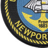Newport Naval Station Rhode Island Patch | Lower Left Quadrant