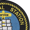 Newport Naval Station Rhode Island Patch | Upper Right Quadrant