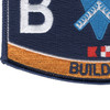 Navy Seabee Builder Rating Hat Patch | Lower Left Quadrant