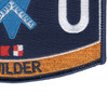 Navy Seabee Builder Rating Hat Patch | Lower Right Quadrant