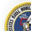58th Naval Mobile Construction Battalion Patch | Upper Left Quadrant