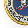 58th Naval Mobile Construction Battalion Patch | Lower Left Quadrant
