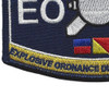 Navy Rating Explosives Ordnance Disposal Patch | Lower Left Quadrant