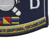 Navy Rating Explosives Ordnance Disposal Patch | Lower Right Quadrant
