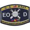 Navy Rating Explosives Ordnance Disposal Patch