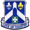 58th Infantry Regiment Patch Love Of Country