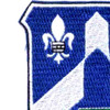 58th Infantry Regiment Patch Love Of Country   Upper Left Quadrant