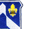58th Infantry Regiment Patch Love Of Country   Upper Right Quadrant