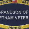 Navy Grandson Of A Vietnam Veteran Patch | Center Detail