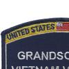 Navy Grandson Of A Vietnam Veteran Patch | Upper Left Quadrant