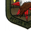 SERE Training Patch Return With Honor ACU | Lower Left Quadrant
