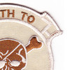 Seal Team IV Afghanistan Theater Of Operation Patch Desert   Upper Right Quadrant