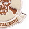 Seal Team IV Afghanistan Theater Of Operation Patch Desert   Lower Right Quadrant