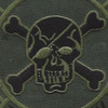 Seal Team IV Afghanistan OD Green Patch | Center Detail