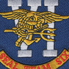 Seal Team 6 Sea Land And Air Special Operations Unit Patch | Center Detail