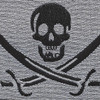 SEAL OIF OEF Calico Jack Pirate Patch | Center Detail