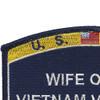 Seabees Wife Of A Vietnam Veteran Patch | Upper Left Quadrant