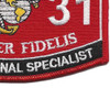 5831 MOS Correctional Specialist Patch | Lower Right Quadrant