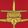 582nd Airborne Field Artillery Battalion Patch   Center Detail