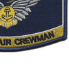 Navy Combat Air Crewman Badge Rating Patch   Lower Right Quadrant