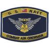 Navy Combat Air Crewman Badge Rating Patch