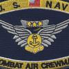 Navy Combat Air Crewman Badge Rating Patch   Center Detail