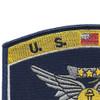 Navy Combat Air Crewman Badge Rating Patch   Upper Left Quadrant