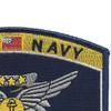 Navy Combat Air Crewman Badge Rating Patch   Upper Right Quadrant