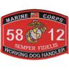 5812 Working Dog Handler MOS Patch