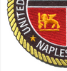 Naval Support Activity Naples, Italy Patch