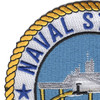Naval Station Pearl Harbor Hawaii Patch - Version A | Upper Left Quadrant