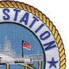 Naval Station Pearl Harbor Hawaii Patch - Version A | Upper Right Quadrant